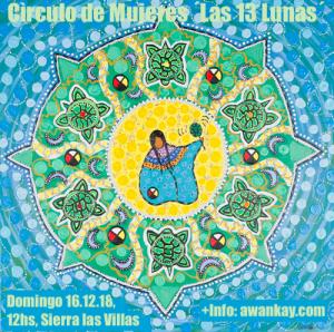 Círculo de Mujeres, Sierra las Villas, arte original Leah Dorion
