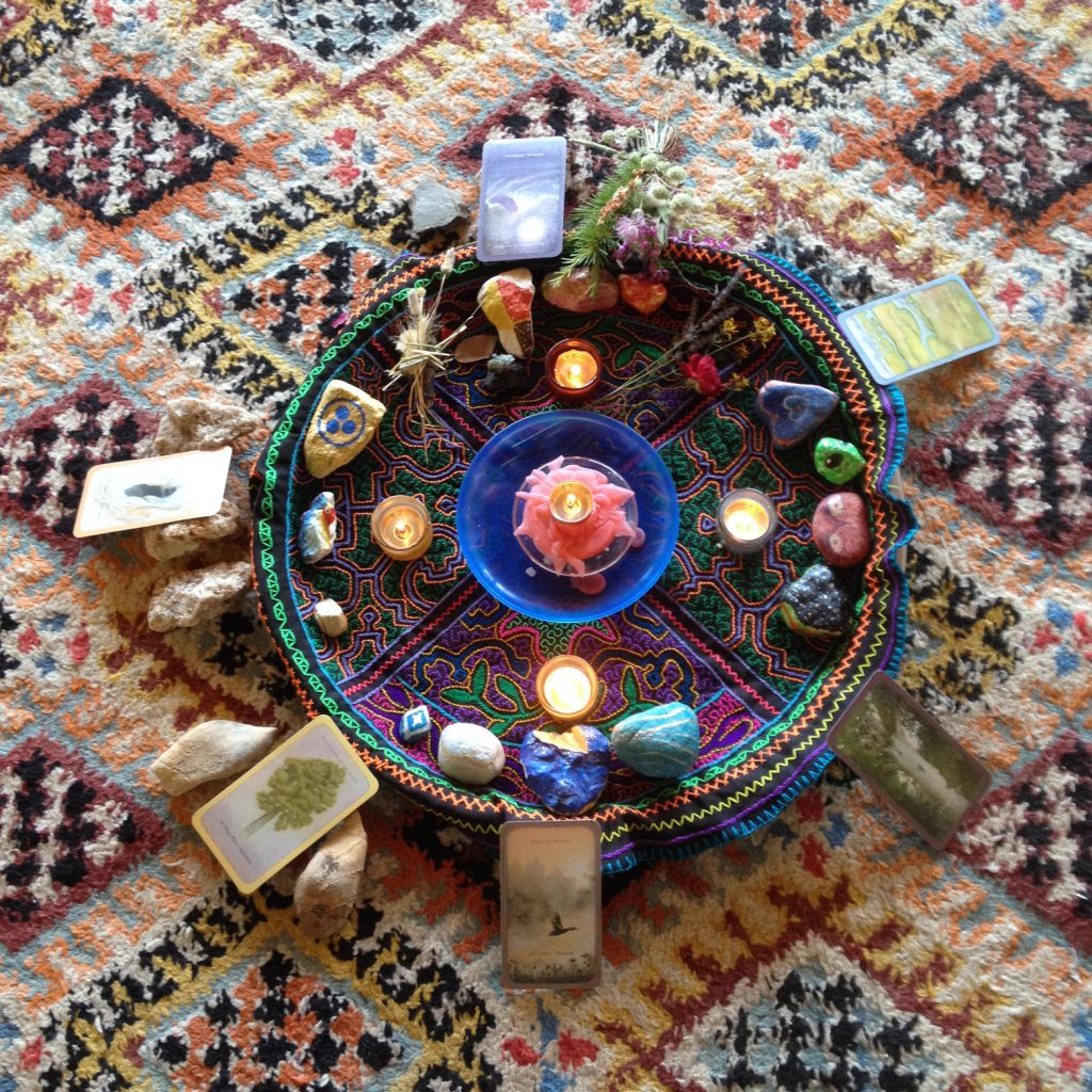 Circulo Sagrado Altar
