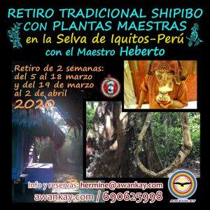 Retiro tradicional Shipibo Perú